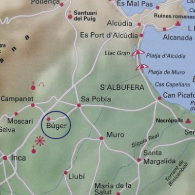 Map - Buger in Mallorca