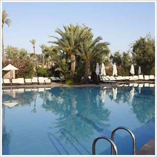 Club Med Marrakech la Medina, Marrakech, Morocco - Accommodation and Pool