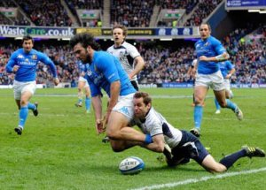 Italy v Scotland 6 Nations Rugby package 2014