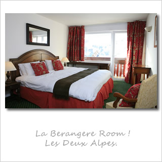 Mark Warner La Berangere Hotel Room, Les Deux Alpes