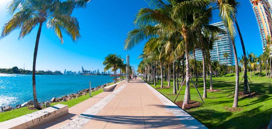 Orlando and Miami