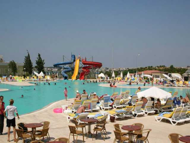 Pool at Palm Wings Beach Resort in Altinkum Didim Bodrum Area Turkey