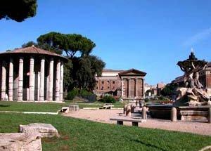 Rome Piazza Bocca Della Verita