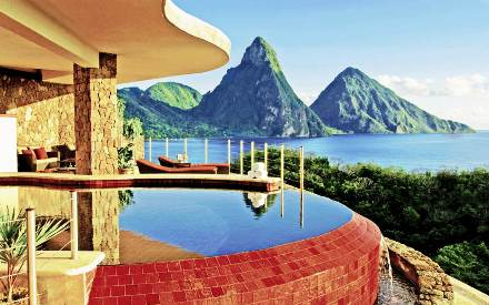 INFINITY POOL AND PITONS