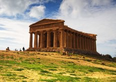Agrigento, Greek architecture