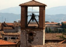 Perugia bell tower