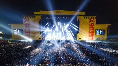 Leeds Festival from the Isle of Man