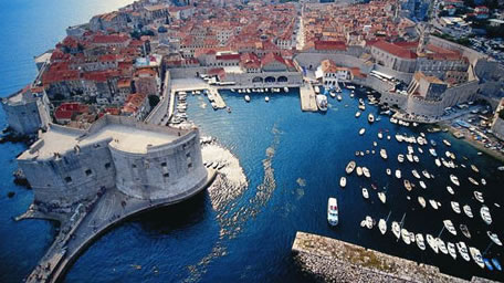 Dubrovnik from the Isle of Man