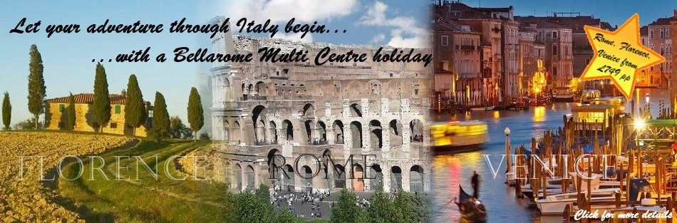 D. Multi centre holidays in Italy