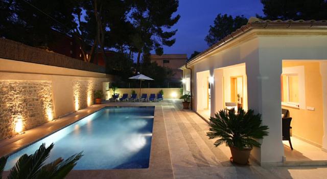 Villa Medina, Cala San Vicente, Mallorca