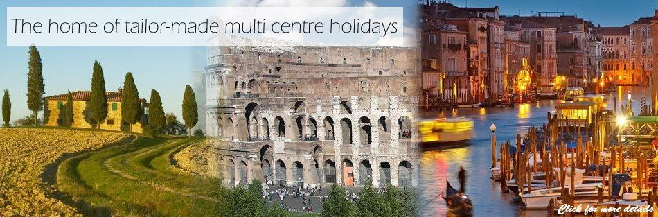 A. Multi centre holidays in Italy