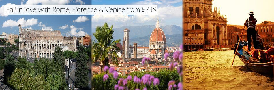 C. Rome, Florence, Venice