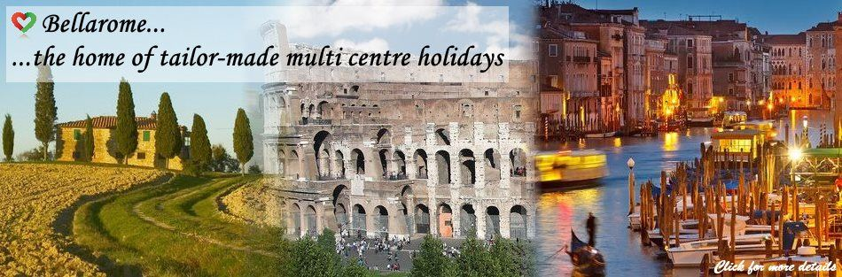 B. Multi centre holidays in Italy