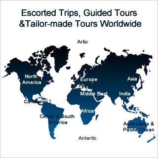Escorted Tours, Guided Tours, Tours, Tours, Tour, Trips, Escorted