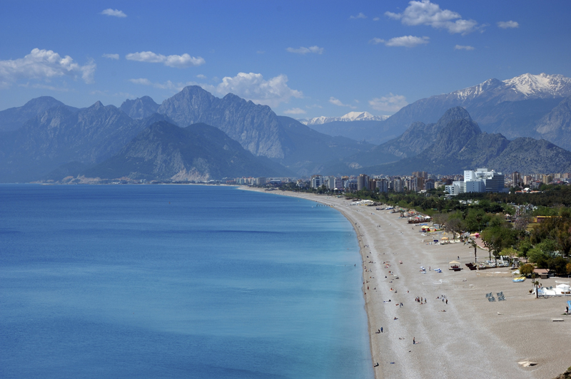 Antalya Beach Holiday View