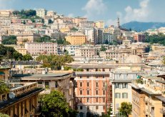 Genoa, panoramic