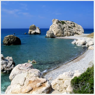 Aphrodites Rock, Paphos, Cyprus, Holiday, Holidays, Honeymoon
